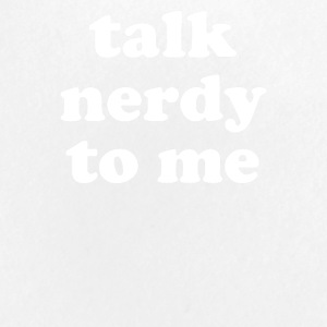 Talk Nerdy To Me - Small Buttons