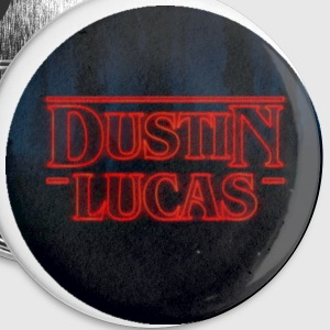Dustin and Lucas Circle - Small Buttons
