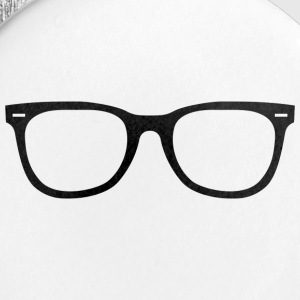 nerdy glasses - Small Buttons
