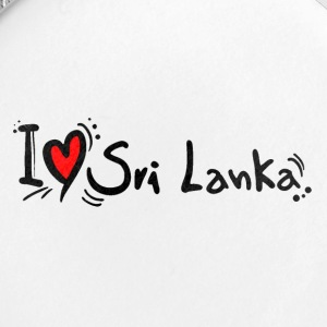 I love Sri Lanka tees - Small Buttons