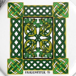 Fairie Patter - Celtic Hounds in Green