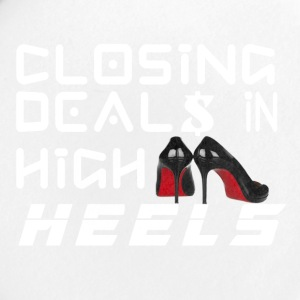 Closing Deals In High Heels - Small Buttons