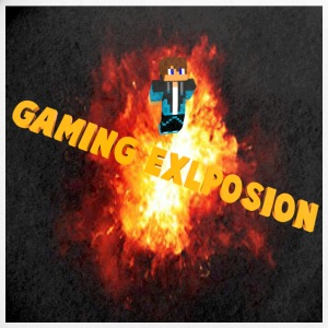 Gaming Explosion Picture - Small Buttons