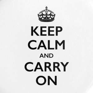 KEEP CALM AND CARRY ON - Small Buttons