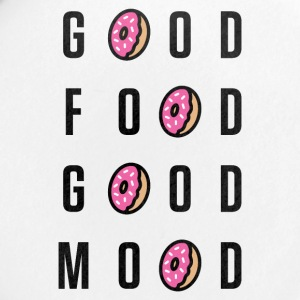 Good Food Good Mood | Donut Typography - Small Buttons