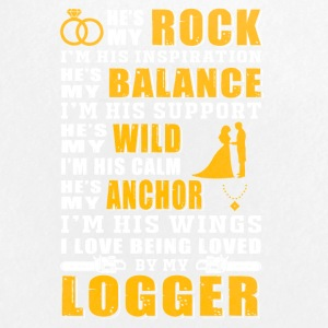 I love being loved by my Logger T-Shirts - Small Buttons