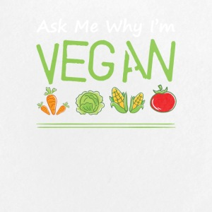 Ask Me Why Im Vegan Love Vegan Saying - Small Buttons