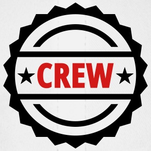 crew team button - Baseball Cap