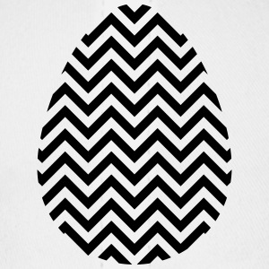 Black Easter Egg Chevron - Baseball Cap