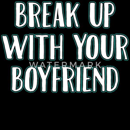 Boyfriend Funny Quotes Break Up Couples Gift Baseball Cap - black