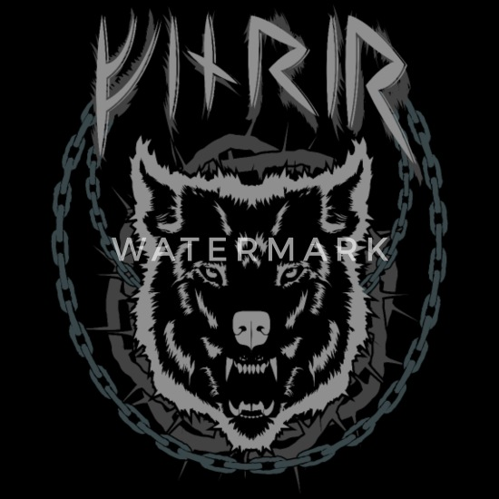 TANK TOP FENRIR ying yang Norse Odin Viking Ragnarok Thor Valhalla Loki