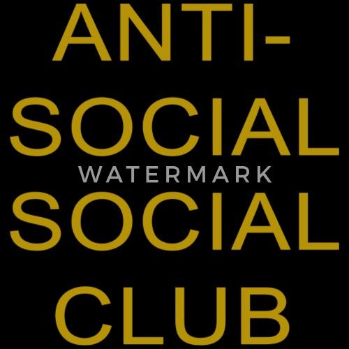 bb6d28c5a7da Anti-Social Social Club Gold Gift Idea Baseball Cap
