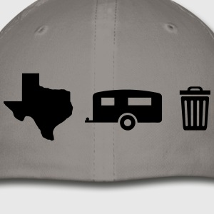 Texas Trailer Trash - Icons (Horizontal/Dark Hue) - Baseball Cap
