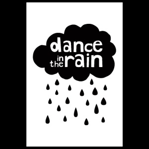 Dance In The Rain - Cloud with raindrops