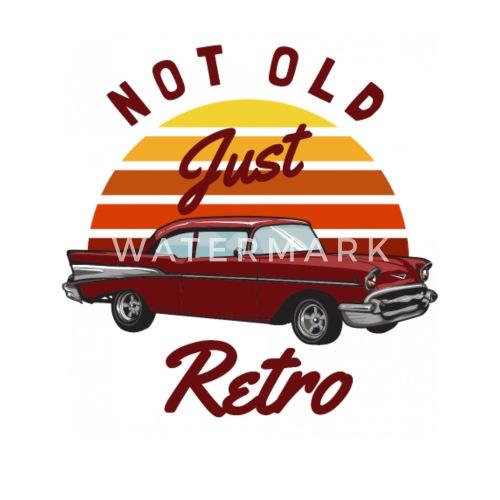 Enamel MugNot Old Just Vintage Classic Car Birthday Gift