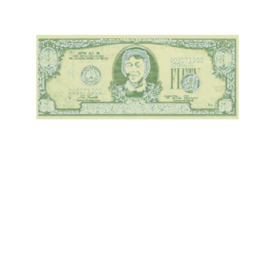 50 Dollar Bill - The Goonies Camper Mug - white
