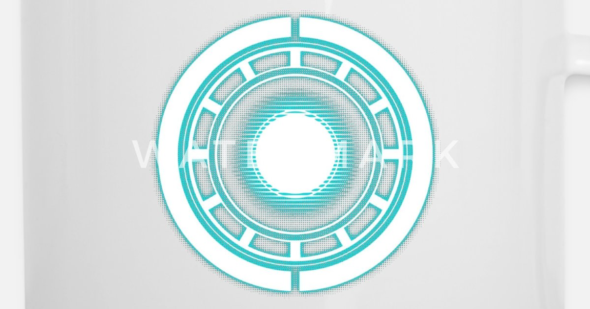 Real arc reactor Enamel Mug | Spreadshirt