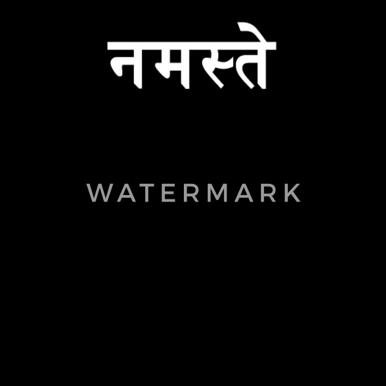 Hello in Hindi | India, Indian, Hindi Word Cotton Drawstring