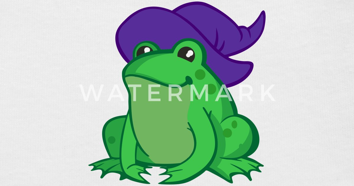 witch frog Baby Cap   Spreadshirt