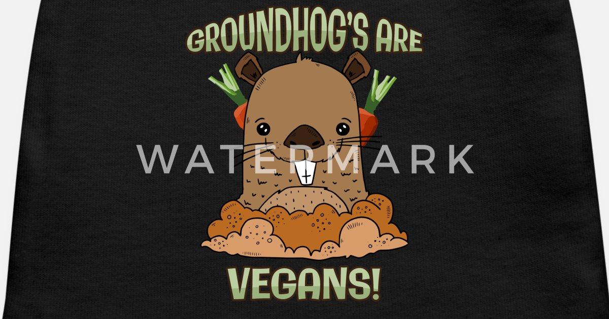 Groundhog Day Cute Holiday Baby Long Sleeve Bodysuit Gift Happy Groundhog Day