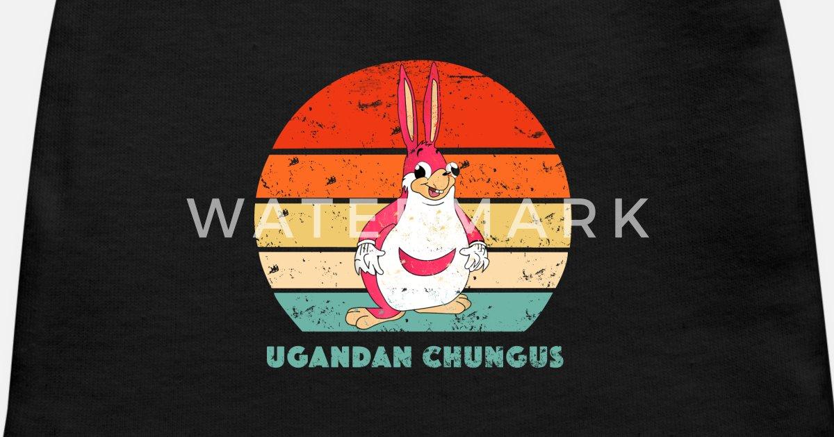 Retro Vintage Funny Ugandan Chungus Meme T Shirt Baby Cap Spreadshirt