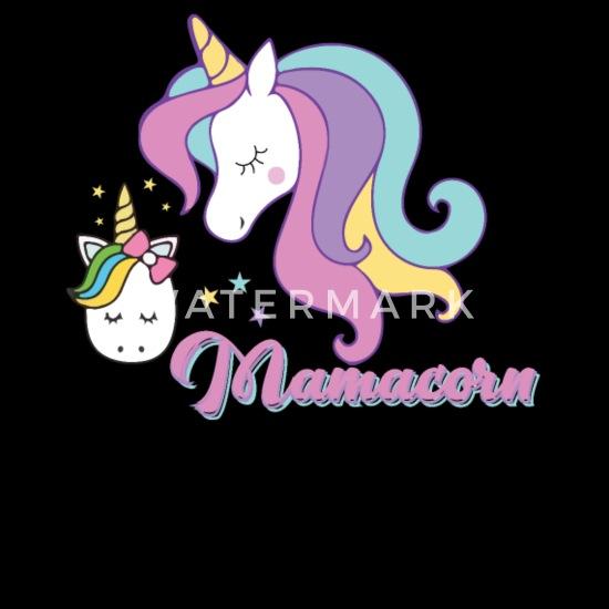 Baby CapMamacorn Unicorn Shirt Mom Shirts Birthday Gifts