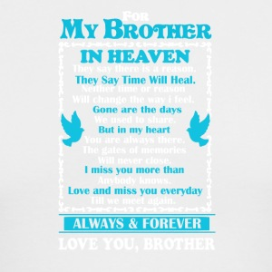 Brother In Heaven Shirt - Men's Long Sleeve T-Shirt by Next Level