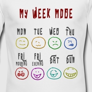 Week Mode - Men's Long Sleeve T-Shirt by Next Level