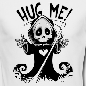 Halloween Happy Reaper Huge Me - Men's Long Sleeve T-Shirt by Next Level