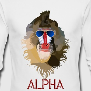 Alpha - Men's Long Sleeve T-Shirt by Next Level