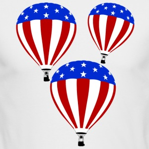 Air Balloon Tee Shirt - Men's Long Sleeve T-Shirt by Next Level