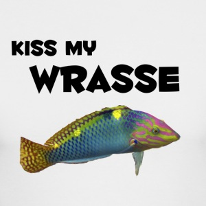 kiss my wrasse - Men's Long Sleeve T-Shirt by Next Level