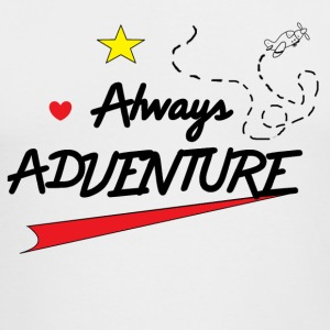 Always Adventure - Men's Long Sleeve T-Shirt by Next Level