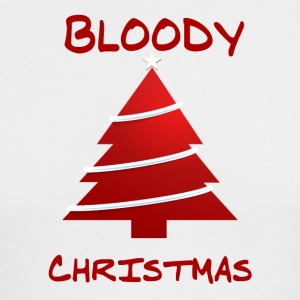 BLOODY CHRISTMAS - Men's Long Sleeve T-Shirt by Next Level