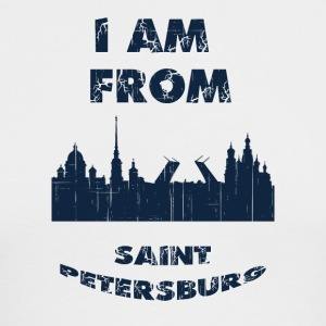 Saint Petersburg I am from - Men's Long Sleeve T-Shirt by Next Level
