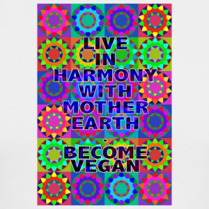 TESSITURA 100. Live in Harmony With Mother Earth. - Men's Long Sleeve T-Shirt by Next Level
