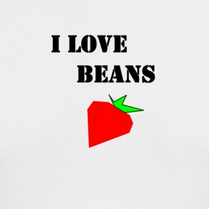 I love Beans - Men's Long Sleeve T-Shirt by Next Level