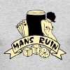 2 col mans ruin pin up girl sex drugs rock n roll - Men's Long Sleeve T-Shirt by Next Level