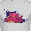 Octopus Ink - Men's Long Sleeve T-Shirt by Next Level