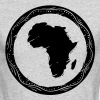 africa map - Men's Long Sleeve T-Shirt by Next Level