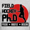 Field Hockey Ph.D Pride Hustle Desire - Men's Long Sleeve T-Shirt by Next Level