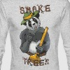 Smoke Trees - Men's Long Sleeve T-Shirt by Next Level