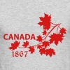 SHOULDER MAPLE LEAF canada BRANCH.ai - Men's Long Sleeve T-Shirt by Next Level