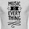 Music Is Everything - Men's Long Sleeve T-Shirt by Next Level
