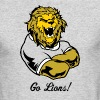 Lions Custom Sports Graphic - Men's Long Sleeve T-Shirt by Next Level