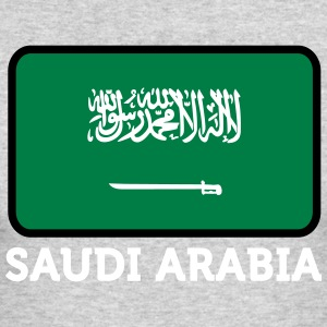 National Flag Of Saudi Arabia - Men's Long Sleeve T-Shirt by Next Level
