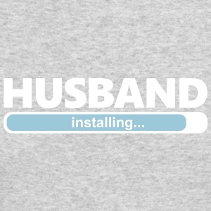 Installing Husband (1064) - Men's Long Sleeve T-Shirt by Next Level