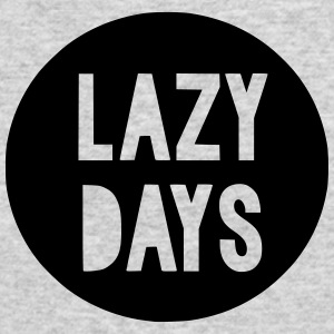 Lazy Days Kids Baby Toddler - Men's Long Sleeve T-Shirt by Next Level