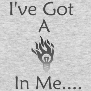 fire in me - Men's Long Sleeve T-Shirt by Next Level