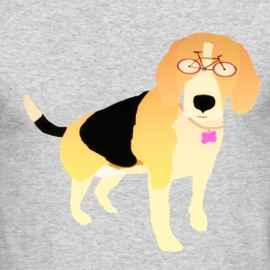 Beagle In Style - Men's Long Sleeve T-Shirt by Next Level
